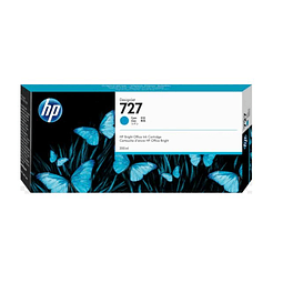 Tinta HP F9J76A 727 Cyan XL