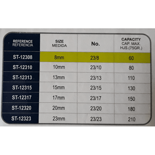 Grapas Studmark ST-12308