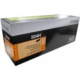 Toner Lexmark 50F4H00 504H BK