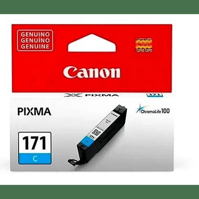 Tinta Canon CLI-171 Cyan