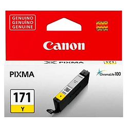 Tinta Canon CLI-171 Yellow