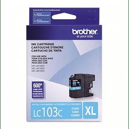 Tinta Brother LC-103 Cyan