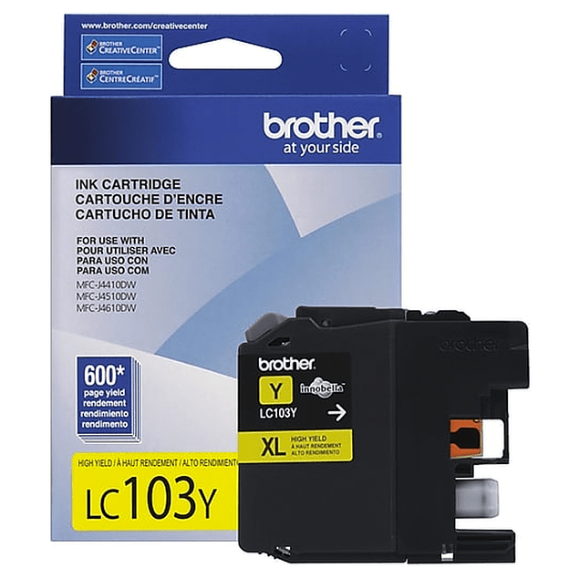 Tinta Brother LC-103 Yellow