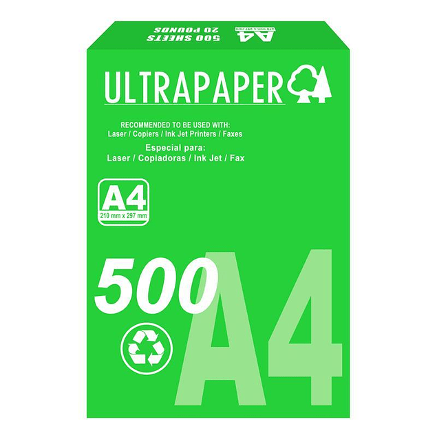 Papel UltraPaper A4