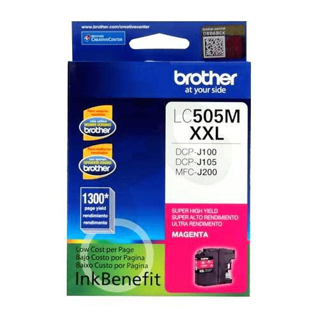 Tinta Brother LC505 Magenta XXL