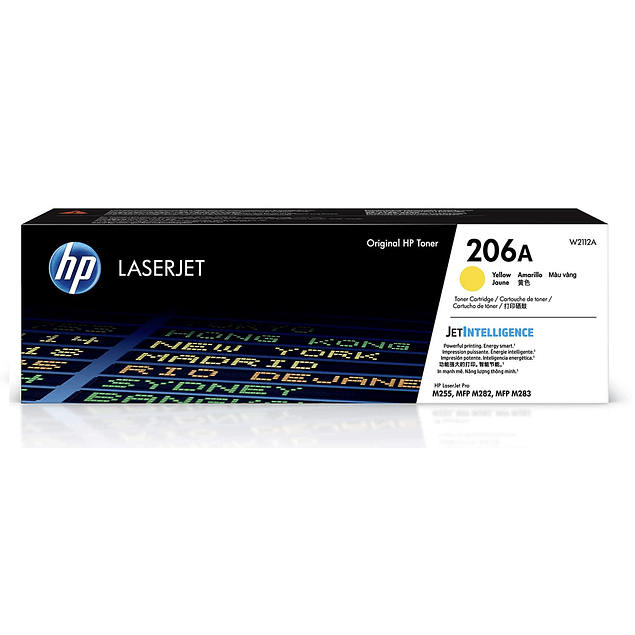 Toner HP W2112 206 Yellow