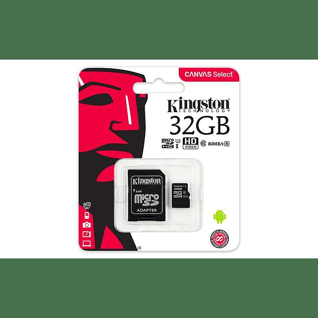 Memorias Kingston SDCS-32GB