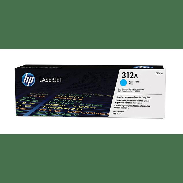 Toner HP CF381A 312 C