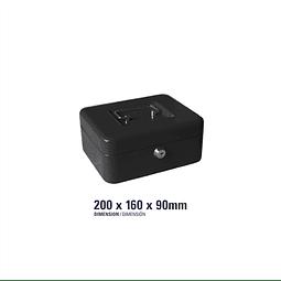 Caja para Efectivo Negra ST-04703-A