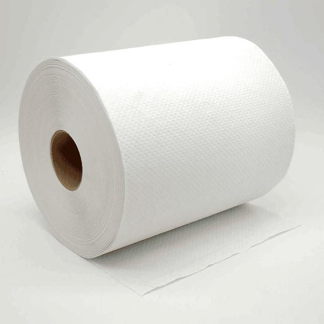 """Papel Toalla SiClean Blanco 7"""" diametro"""