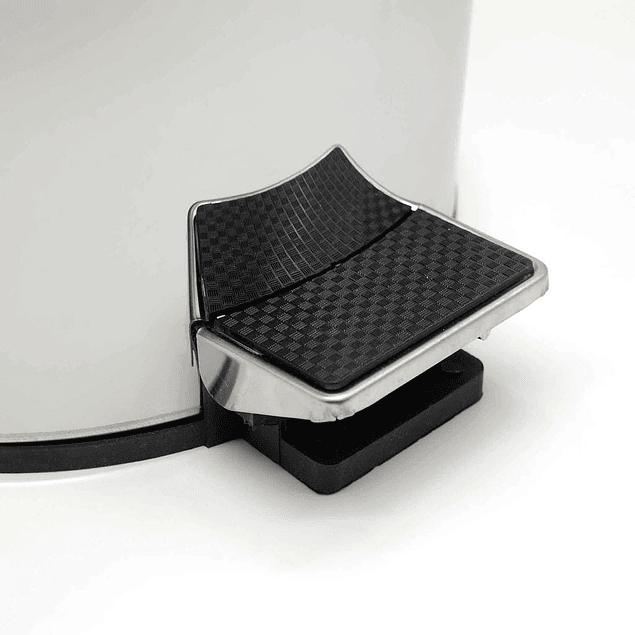Basurero Metálico 5G. SiClean Pedal