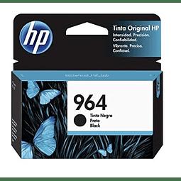 Tinta HP 3JA53AL 964 BK