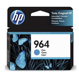 Tinta HP 3JA50AL 964 Cyan