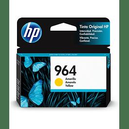 Tinta HP 3JA52AL 964 Yellow