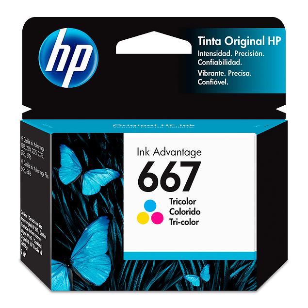 Tinta HP 3YM78 667 CLR