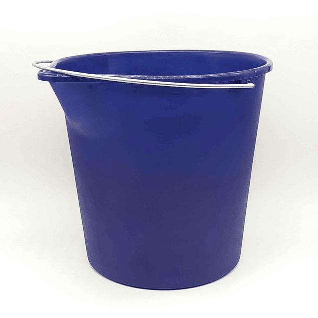 Balde plástico Azul