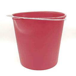 Balde plástico Rojo