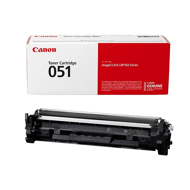 Toner Canon 051 BK