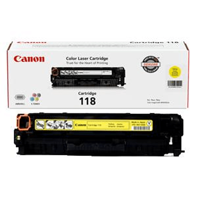 Toner Canon 118 Yellow
