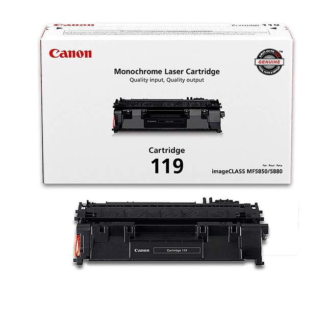 Toner Canon 119 BK