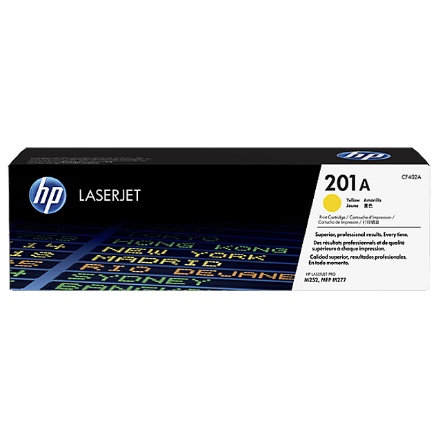 Toner HP CF402A 201 YELLOW