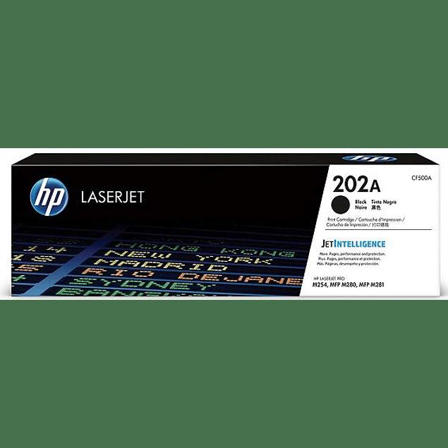 Toner HP CF500A 202 BK