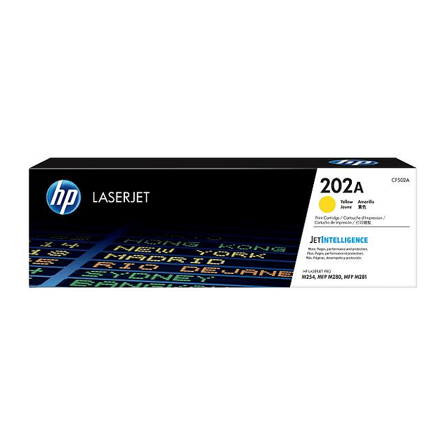 Toner HP CF502A 202 YELLOW