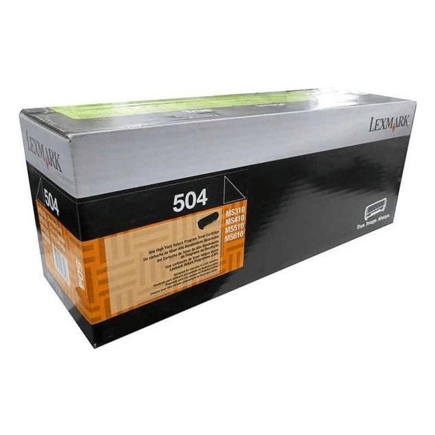 Toner Lexmark 50F4000 504 BK