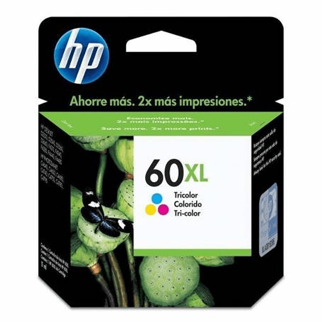 Tinta HP CC644 60 COLOR XL