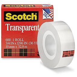 "Tape Scotch 3M 3/4"""