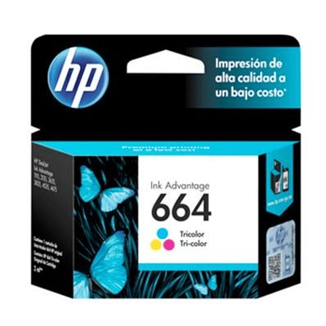 Tinta HP F6V28 664 COLOR