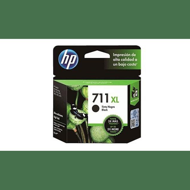 Tinta HP CZ133A 711 BK XL