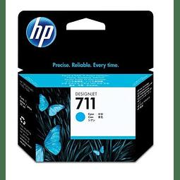 Tinta HP CZ130A 711 CYAN