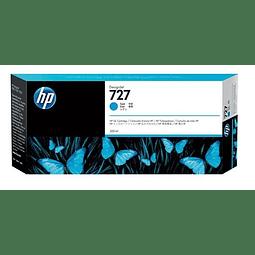 Tinta HP B3P19A 727 CYAN