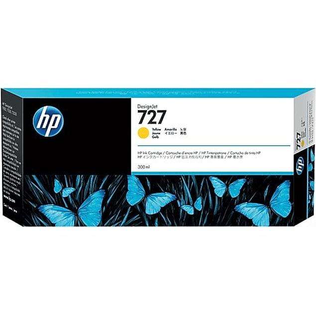 Tinta HP B3P21A 727 YELLOW