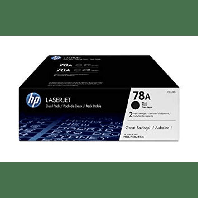 Toner HP CE278A 78A BK DP