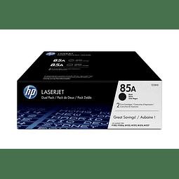 Toner HP CE285A 85A Duo-Pack