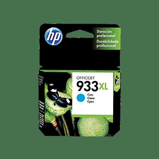 Tinta HP CN054 933 CYAN XL