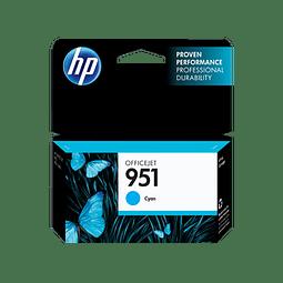 Tinta HP CN050 951 CYAN