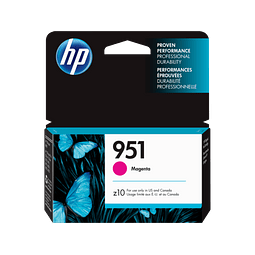 Tinta HP CN051 951 MAGENTA