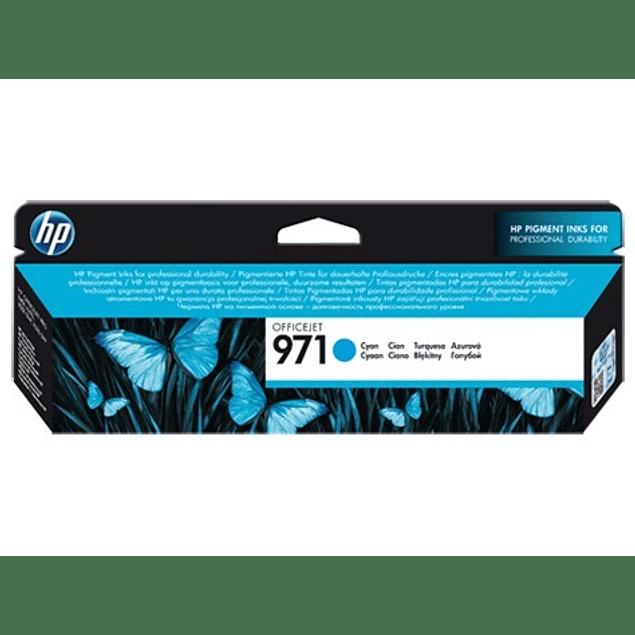 Tinta HP CN622 971 CYAN