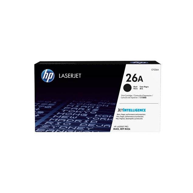 Toner HP CF226A 26 BK