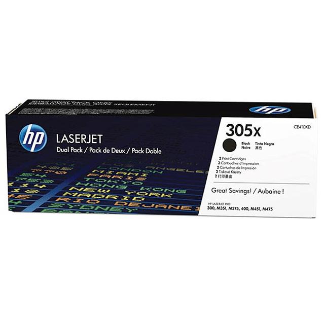 Toner HP CE410X 305X BK XL