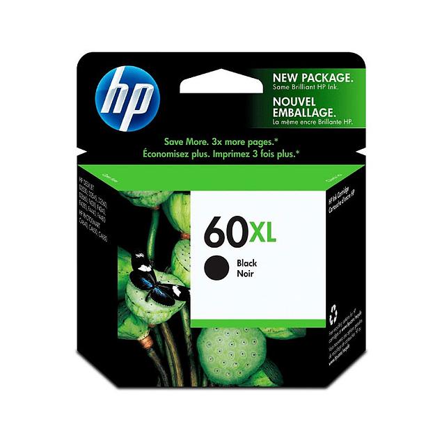 Tinta HP CC641 60 BK XL
