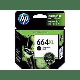 Tinta HP F6V31 664 BK XL