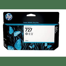 Tinta HP B3P24A 727 GRAY