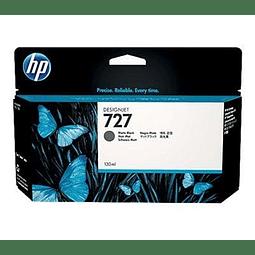 Tinta HP B3P22A 727 BK Matte