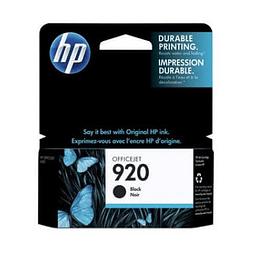 Tinta HP CD971 920 BK