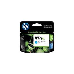 Tinta HP CD972 920 XL CYAN