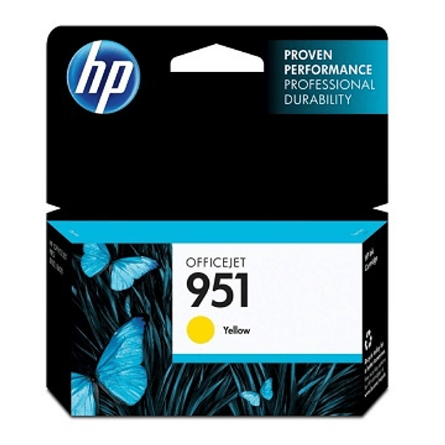 Tinta HP CN052 951 YELLOW